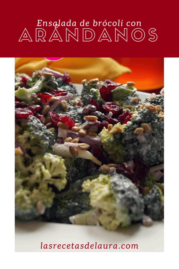 Ensalada de brócoli - Las recetas de Laura