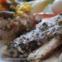Pescado empapelado - las recetas de Laura