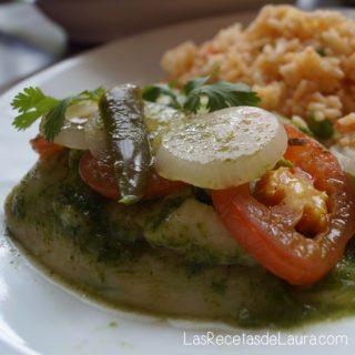 Filete de pescado al cilantro - las recetas de Laura