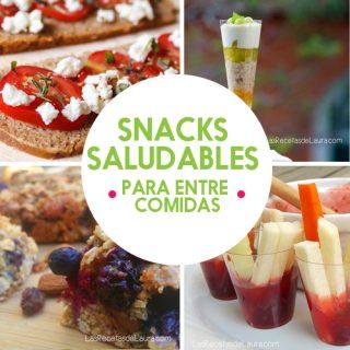 Snacks saludables - las recetas de Laura