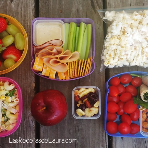 3 IDEAS DE LUNCH SALUDABLES